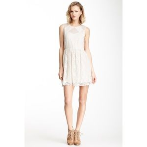 JACK BY BB DAKOTA | Cream Lace Sleeveless Dress